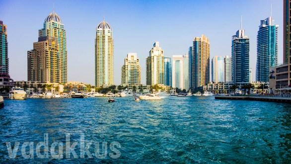 The Dubai Marina at its Northern End