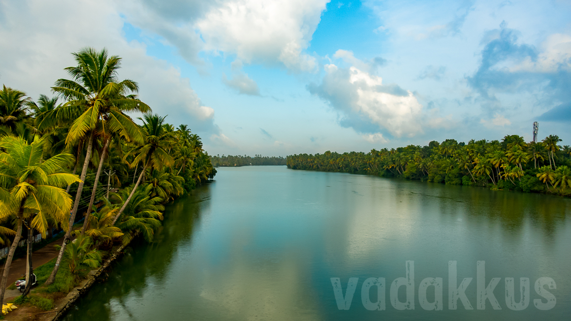 The Serene Kallada River as a Nature's Mirror