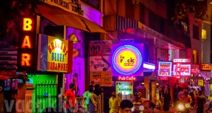 Rows Pubs Bars Signs Bangalore Nightlife Rest House Brigade Road