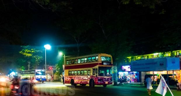 Kerala KSRTC Souble Decker City Bus RN 765 Thiruvananthapuram Kazhakoottam Night