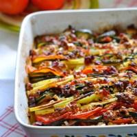 Tian aux Légumes & Féta
