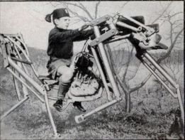 Da kann Big Dog, der amerikanische Militär-Roboter, gleich einpacken: dieses Teil wurde in den 1930-er Jahren erfunden!
