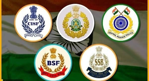 भारतीय पैरामिलिटरी फ़ोर्स में कौन कौन से रैंक होते है