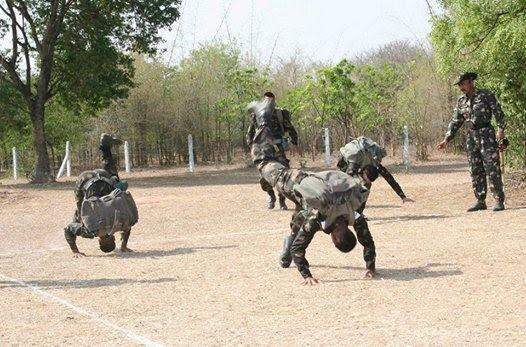 इंडियन आर्मी ट्रेनिंग