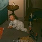 A child's crawl captured