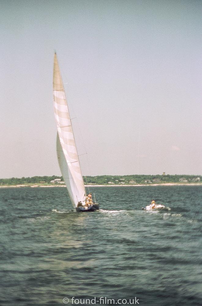A sailing boat