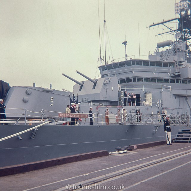 USS Providence bridge