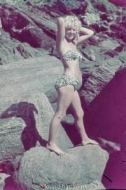 Girl in pose