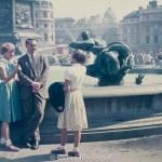 Group in Trafalgar Square, London