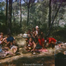 Picnic in Woods