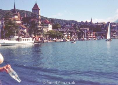 Town on the coast