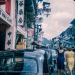 A street in Singapore from the early 1960s