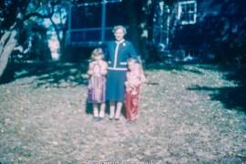 Blurred family snapshot