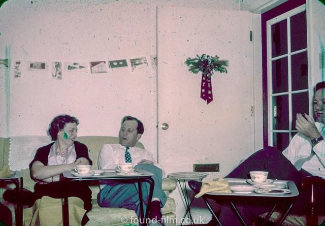 Family life on found-film