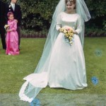 Wedding photo of Bride