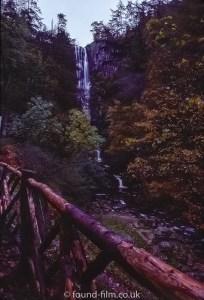 A waterfall - April 1970