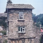 Ambleside bridge house in October 1975