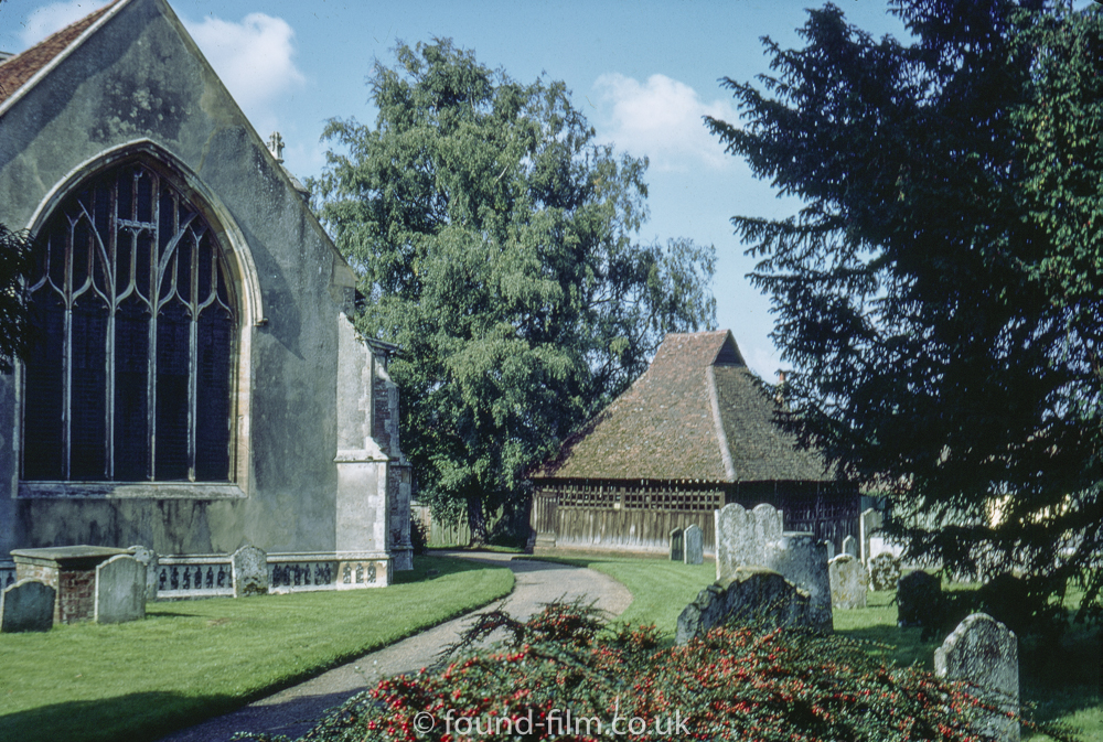 Church at East Bergholt, Suffolk