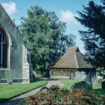 Church at East Bergholt, Suffolk,  October 1968