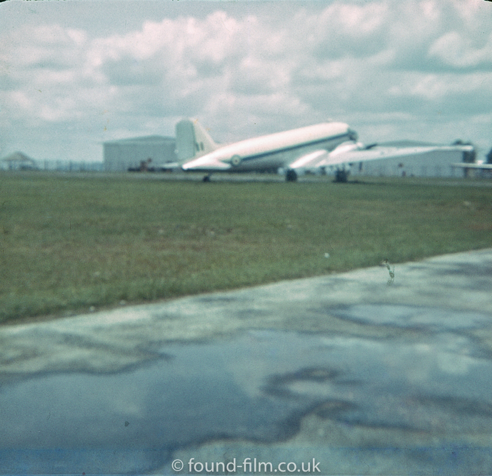 RAF plane at Seletar