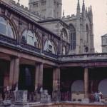 Roman Bath and Abbey, Bath – August 1963
