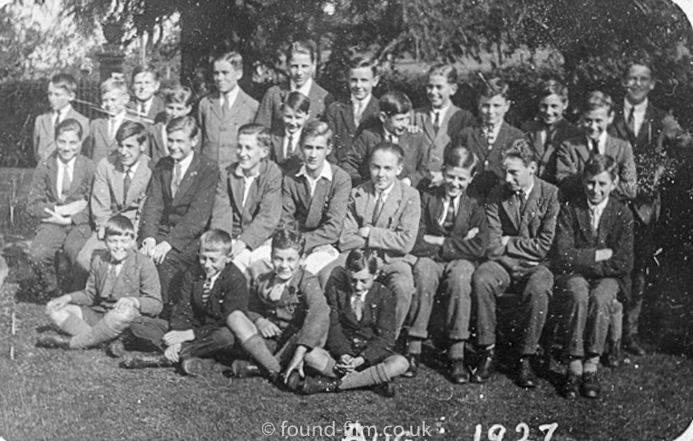 School photo - August 1927