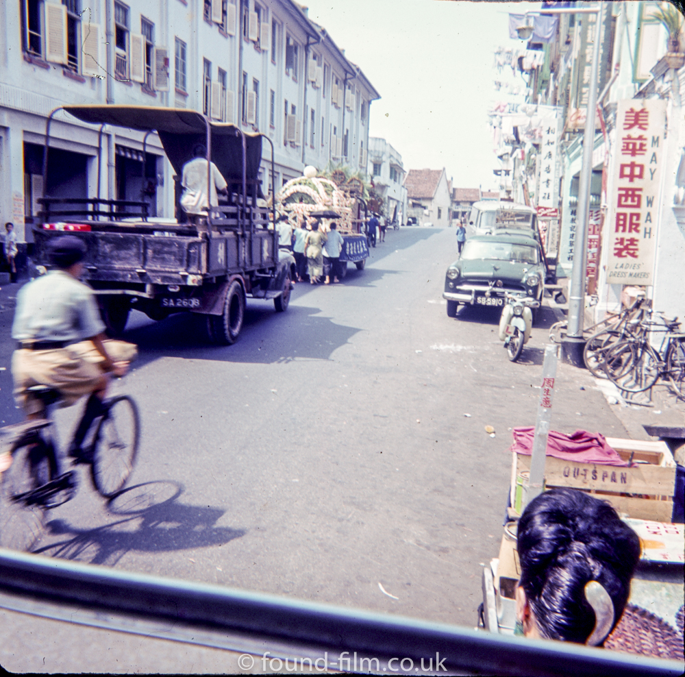 Snapshot through a car window