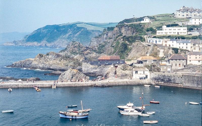Unknown coastal town