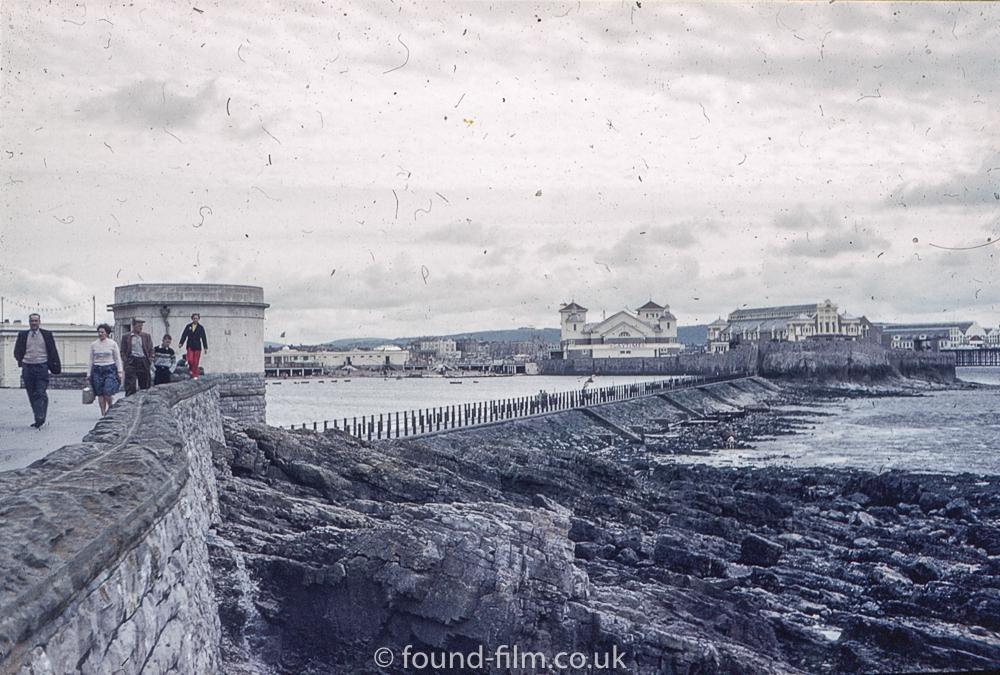 Unknown seaside town