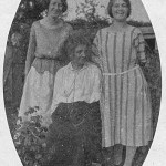 Group portrait of mother and daughters in the 1920s