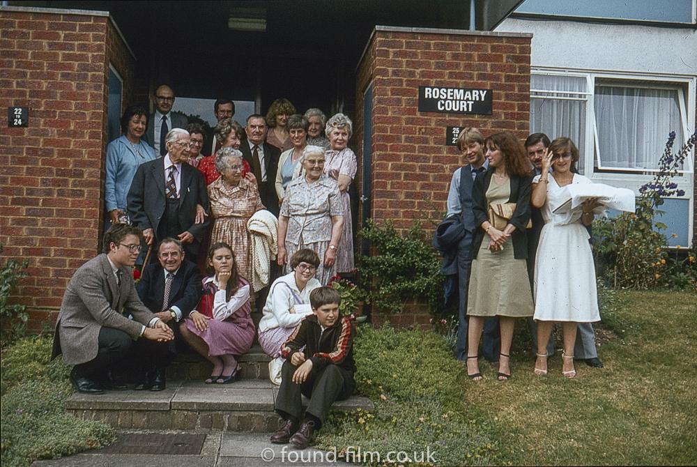 Family at Rosemary Court