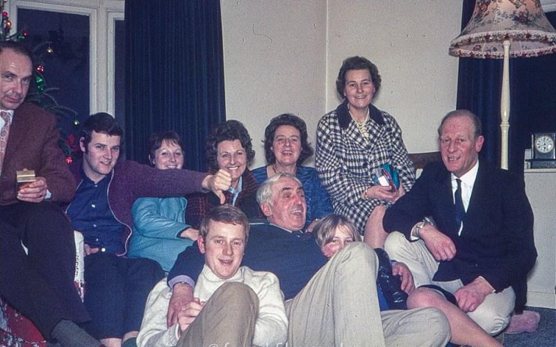 Family Christmas group