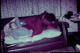 Girl on a sofa