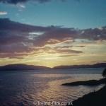 Sunset over Crinan – July 1960