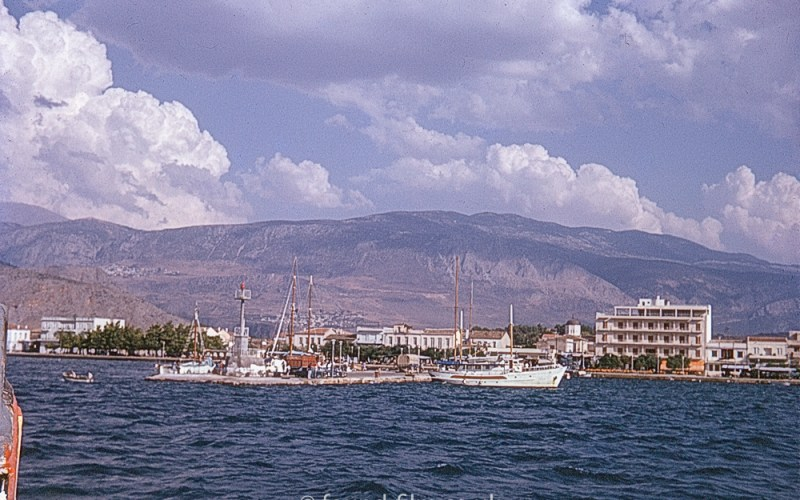 Boats, Harbour, Mountains