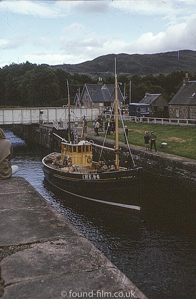 Views of Scotland - Fort Augustus Lock