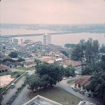 Arial view looking over Singapore – mid 1960s