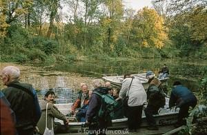 Canal trip on Czech river