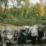 Canal trip on Czech river – November 2001