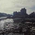 Eilean Donan Castle in the dusk