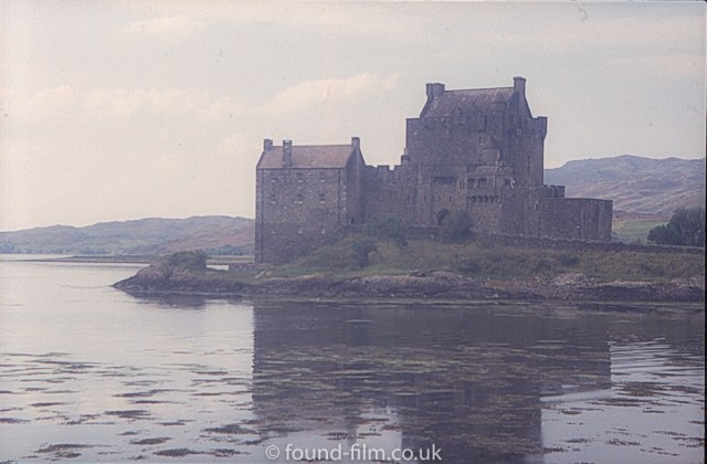 Eilean Donan Castle with low key look