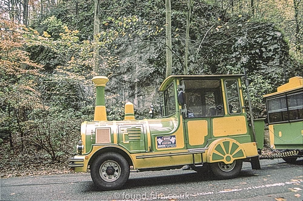 Green Yellow Train in Czech Republic - 2001