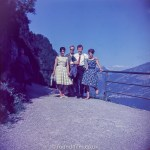 Group portrait on a mountain pass c1960