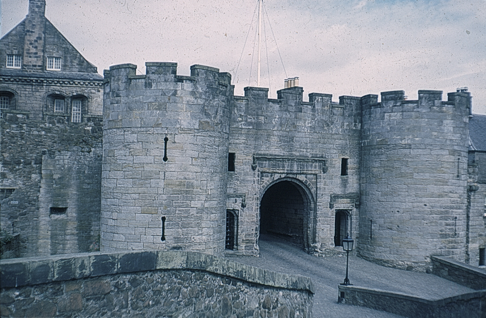 The Entrance to Stirling Castle