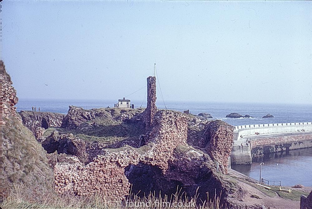 Views of Dunbar - the castle ruins