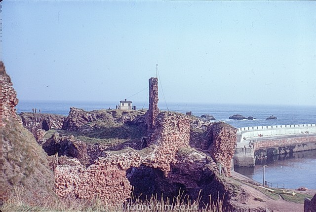Views of Dunbar - the castle ruins