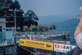 The landing stage at Baveno