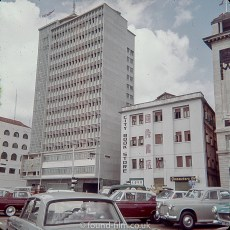 Shell House and the City Book Store, Singapore 1960