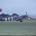 Spitfire MH434 at an airshow in October 1974
