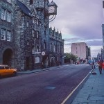 Canongate Tolbooth in Edinburgh Oct 1978